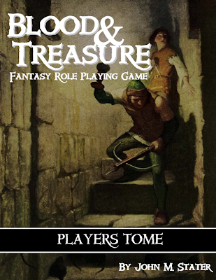 Blood & Treasure cover
