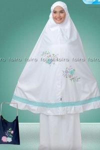Faira Mukena MS 25 - Putih (Toko Jilbab dan Busana Muslimah Terbaru)