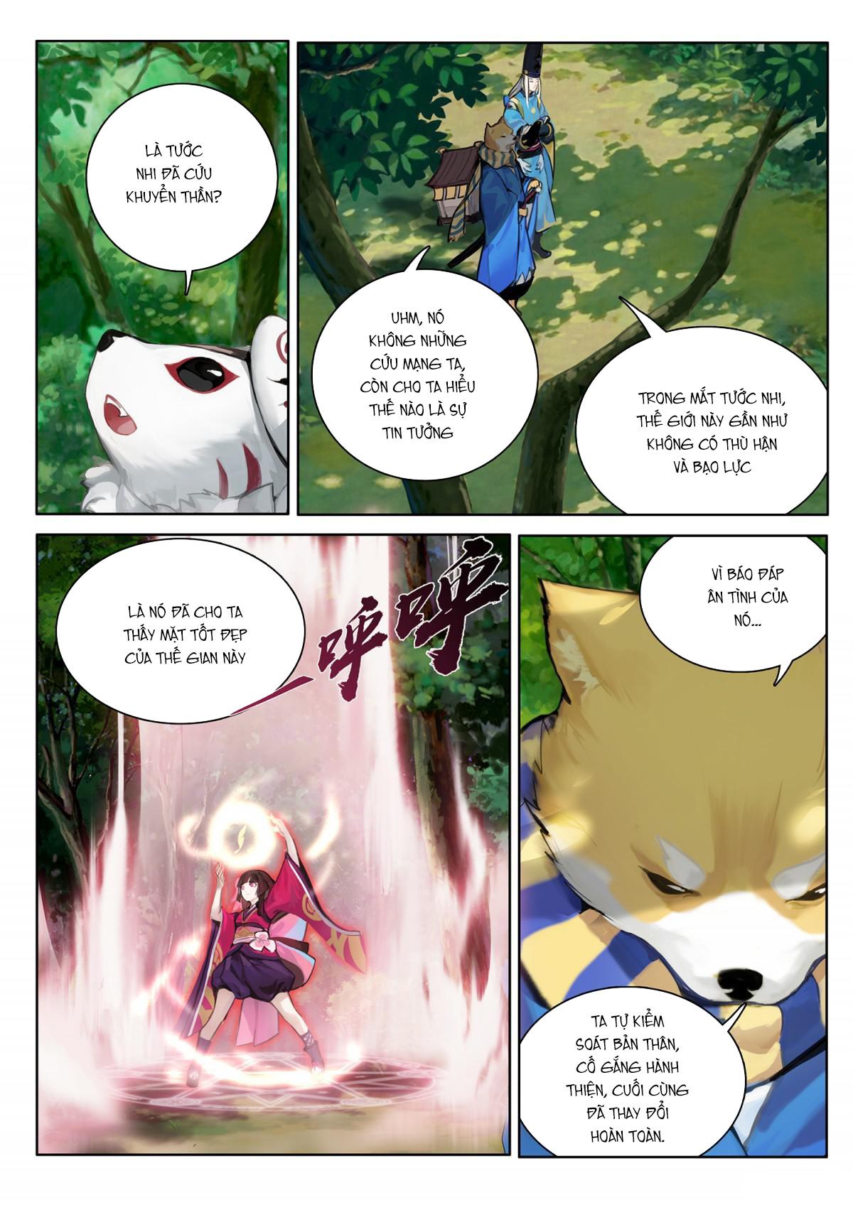 Âm Dương Sư Chap 5 - Next Chap 6