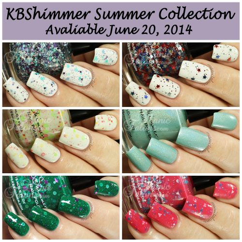 KBShimmer Summer Collection