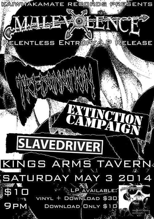 Malevolence Album Release