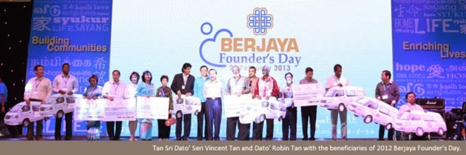 Berjaya donated 1 unit Van