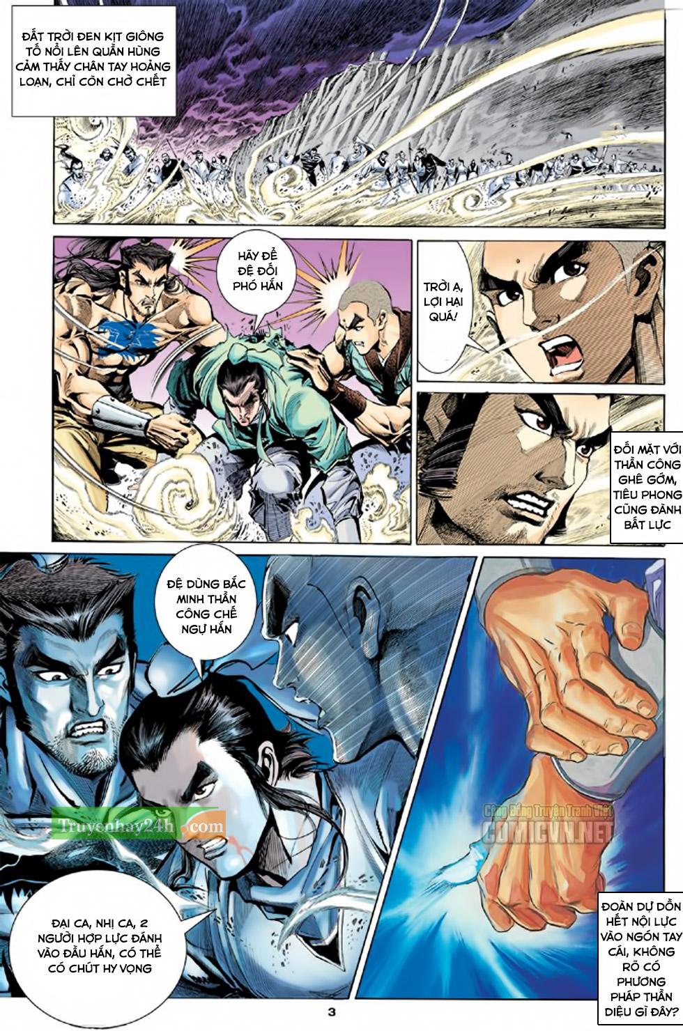 Thiên Long Bát Bộ chap 100 - Trang 4