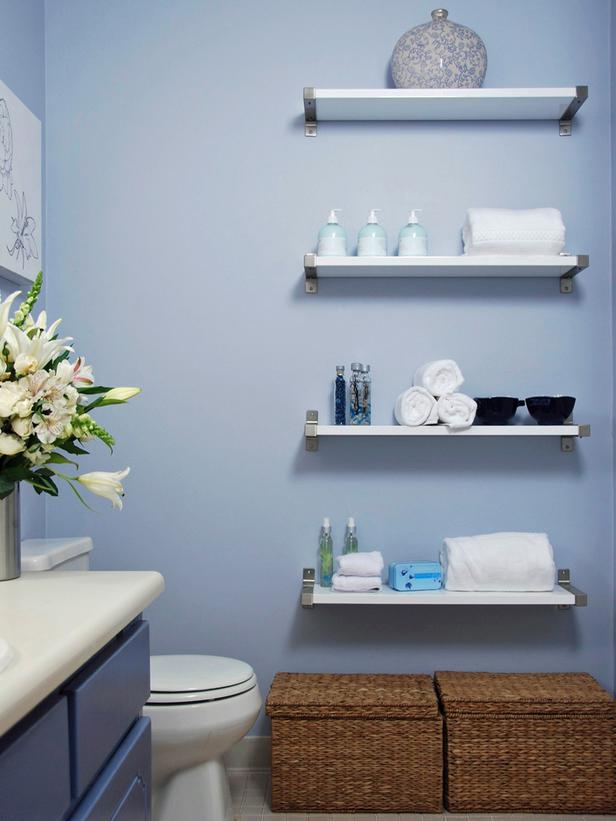 Creative Bathroom Shelving Ideas : Creative yet practical diy bathroom storage ideas handy