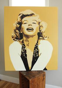 Original Painting on Canvas - Marilyn Monroe - $575
