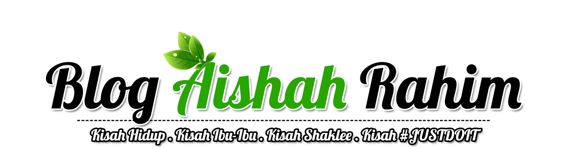 Blog Aishah Rahim