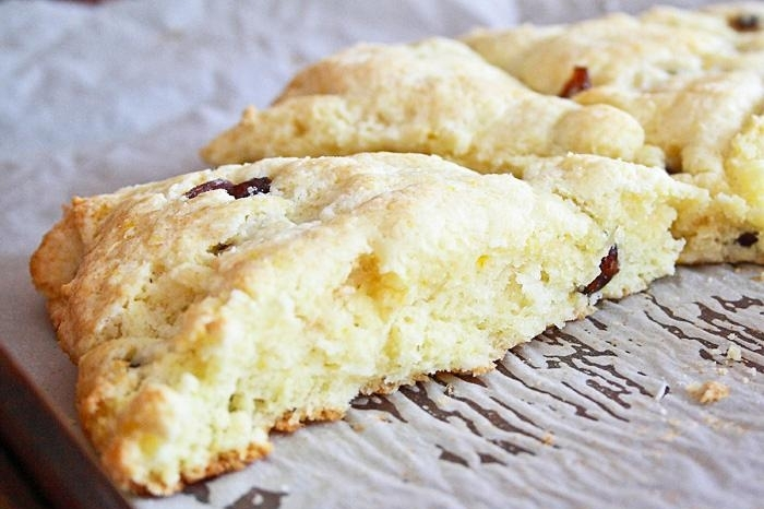 Lemon Drop: Gluten-Free Orange Cranberry Scones