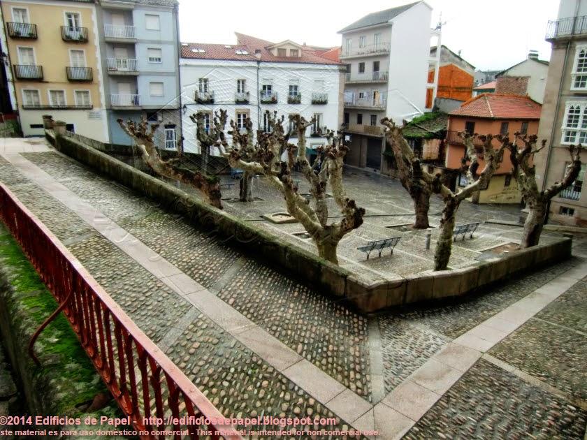 Calle de Hernán Cortés, plaza de San Marcial