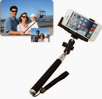 Tongsis, alat untuk berfoto narsis dan membuat foto selfie