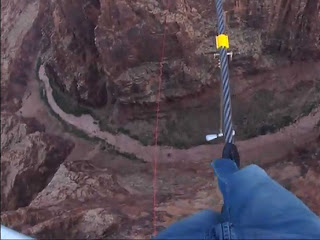 INXS bandnaam herkomst - Crossing Grand Canyon on a rope