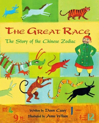 The Great Race - Chinese New Year Barefoot Children's book review