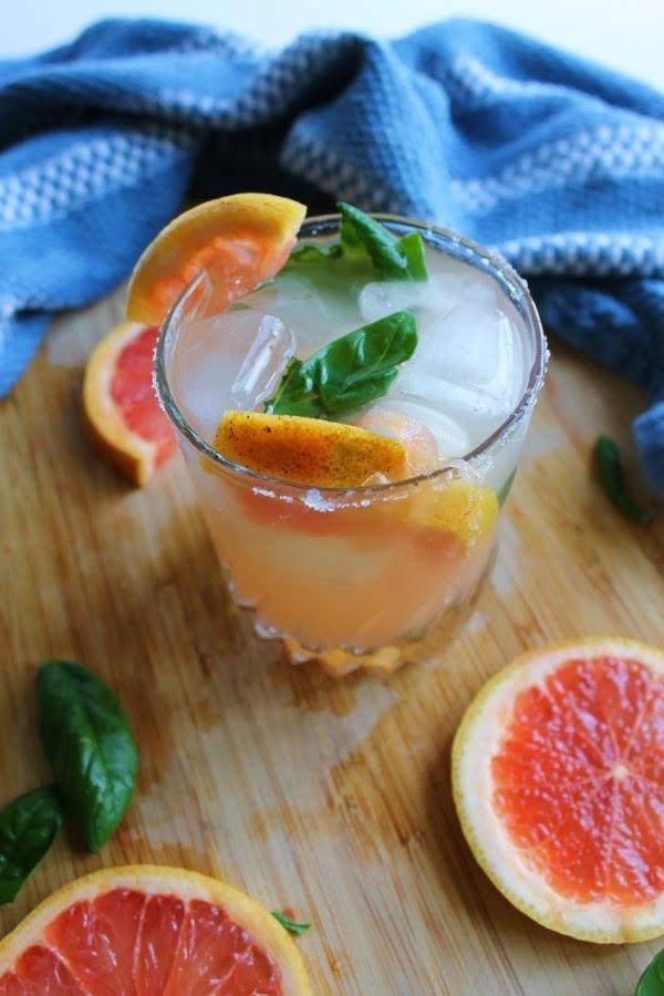 Basil Grapefruit Gin