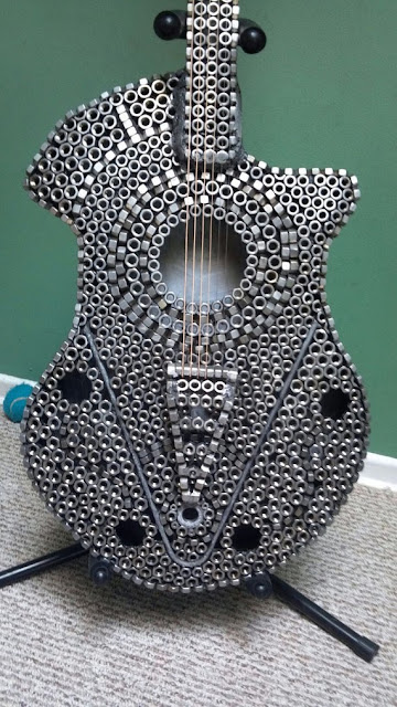 "Guitar Art Mosaic""Guitar Nut"" by Robert Burgert"