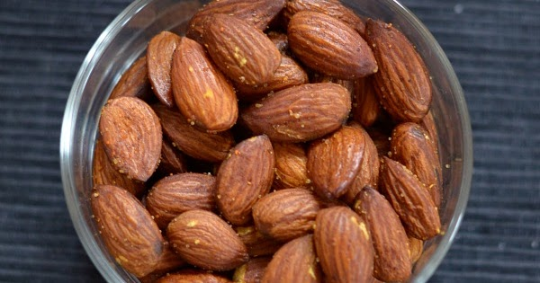 how to make roasted almonds in oven