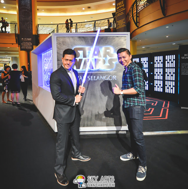 A picture with Mr Yong Yoon Li for the awesome Star Wars Collection that they have created succesfully