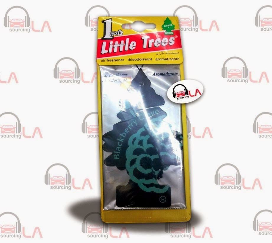 http://www.ebay.com/itm/Little-Trees-Hanging-Car-and-Home-Air-Freshener-Black-Berry-Clove-Pack-of-24-/141464128520