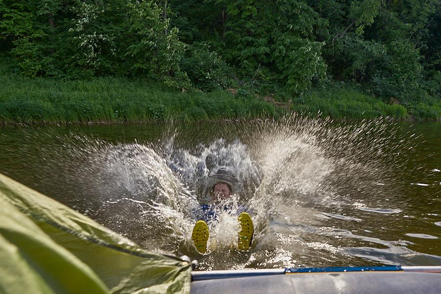 Сплав по реке Ай. День первый
