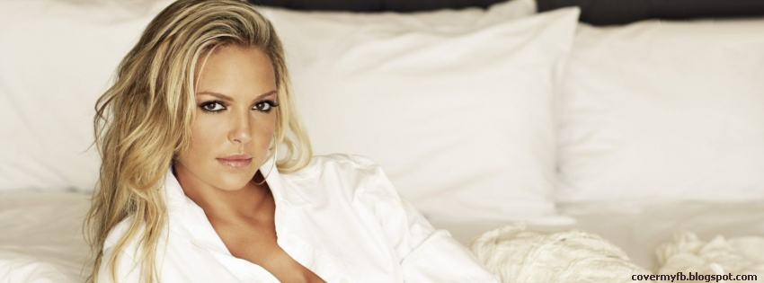 Facebook Cover Of Gorgeous Katherine Heigl.