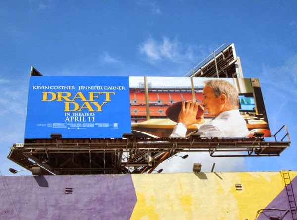 Draft Day movie billboard