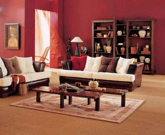 Indian interior design dreams house furniture for Interior of indian living room