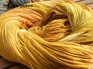 naturalne farbowanie wełny