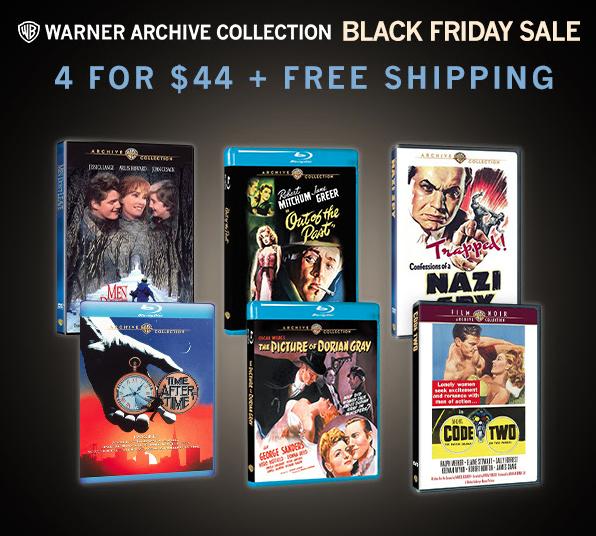 Warner Archive Black Friday Sale