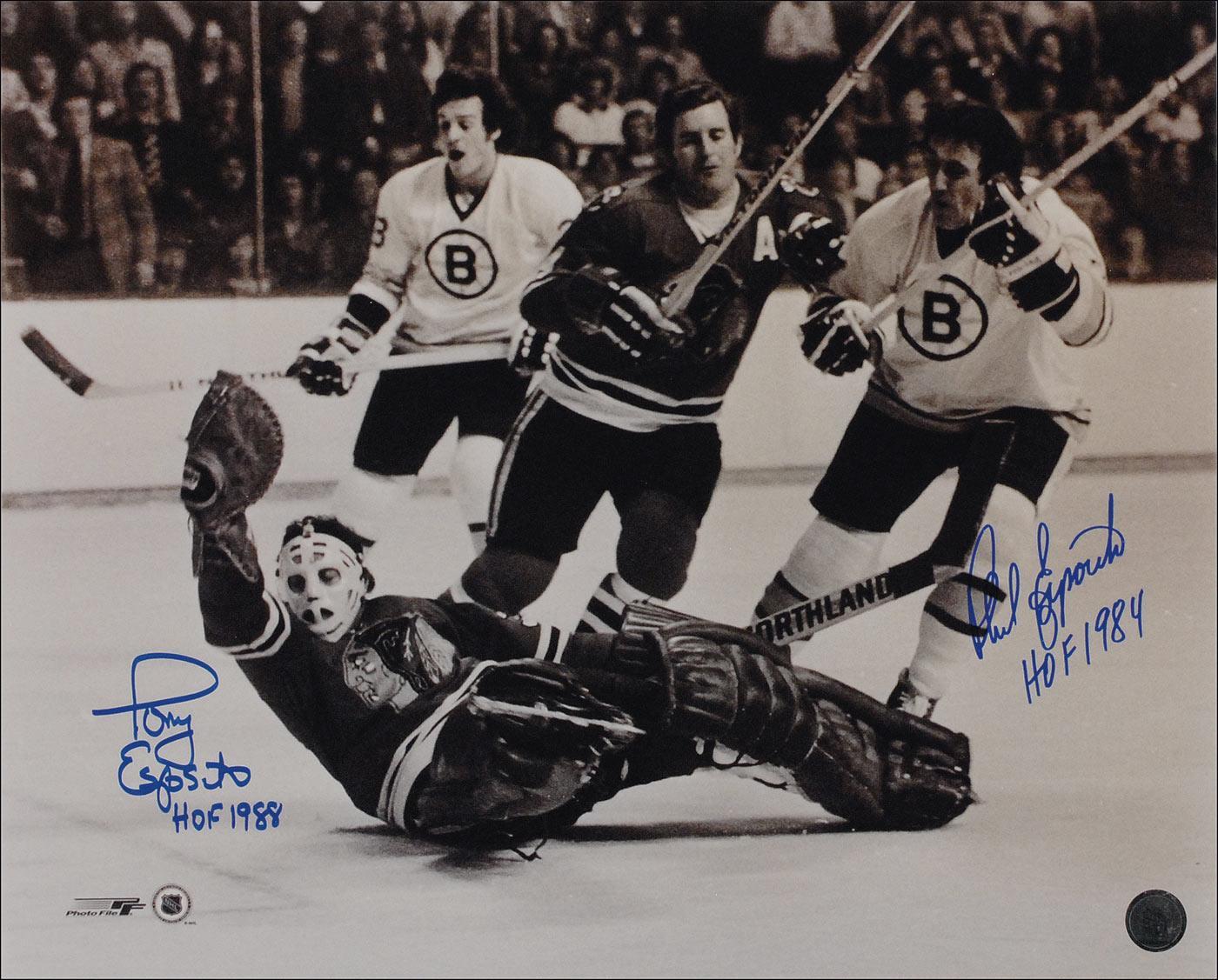 Boston Bruins Stanley Cup 1970 April 19  1970 Phil Esposito