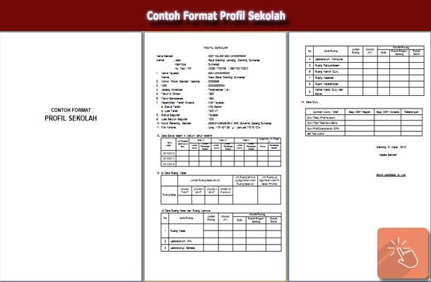 Contoh Format Profil Sekolah