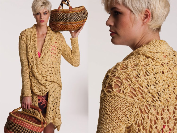 Vogue Patterns Knitting : Isola Lily: Vogue Knitting Fashion Preview Spring/Summer