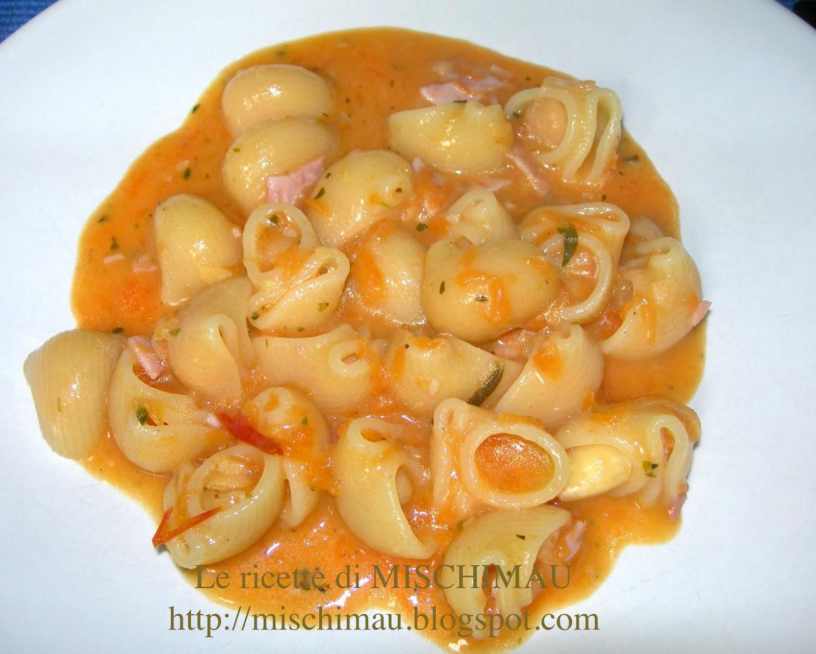 Le ricette di mischimau pasta d 39 inizio autunno for Ricette di pasta