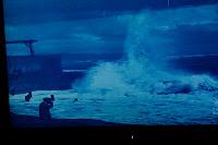 Captura de filmación de temporal en  1911 en la costa catalana
