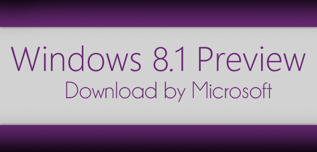 Windows 8.1 Preview download ISO ITA