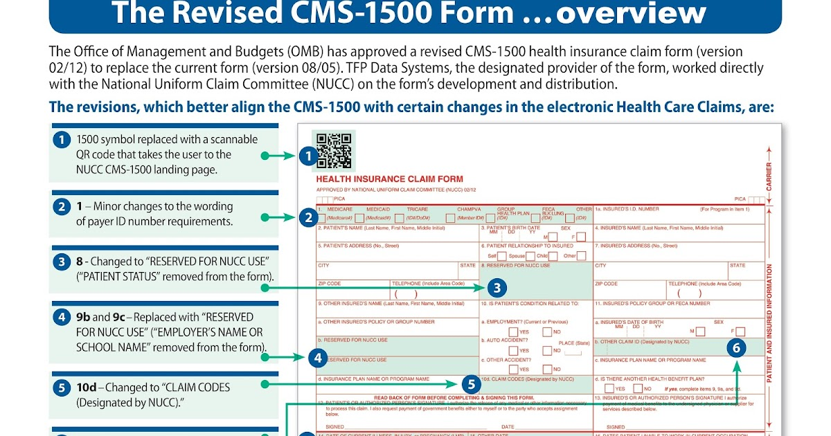 New Hcfa Form 2014 Version 02 12 Of Cms 1500 For Icd 10