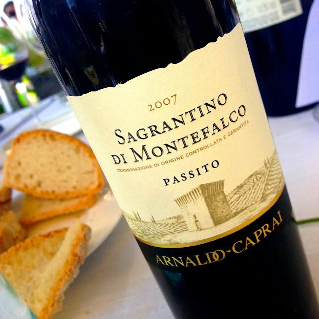 Botella de Sagrantino di Montefalco de las Bodegas Arnaldo Caprai
