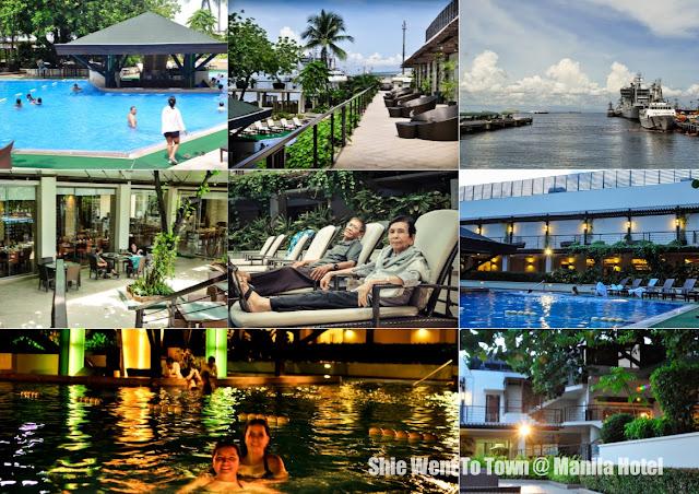 Manila Hotel Pool Area