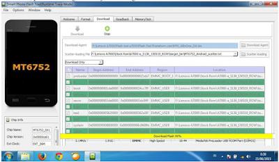Cara Flashing Lenovo A7000