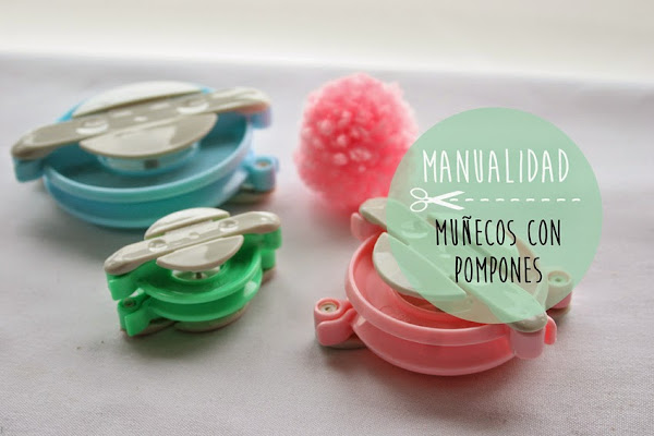 Pompones de lana aprender manualidades es - Como hacer pompones de lana rapido ...
