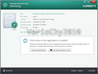 Kaspersky Internet Security 2014 (Lifetime)
