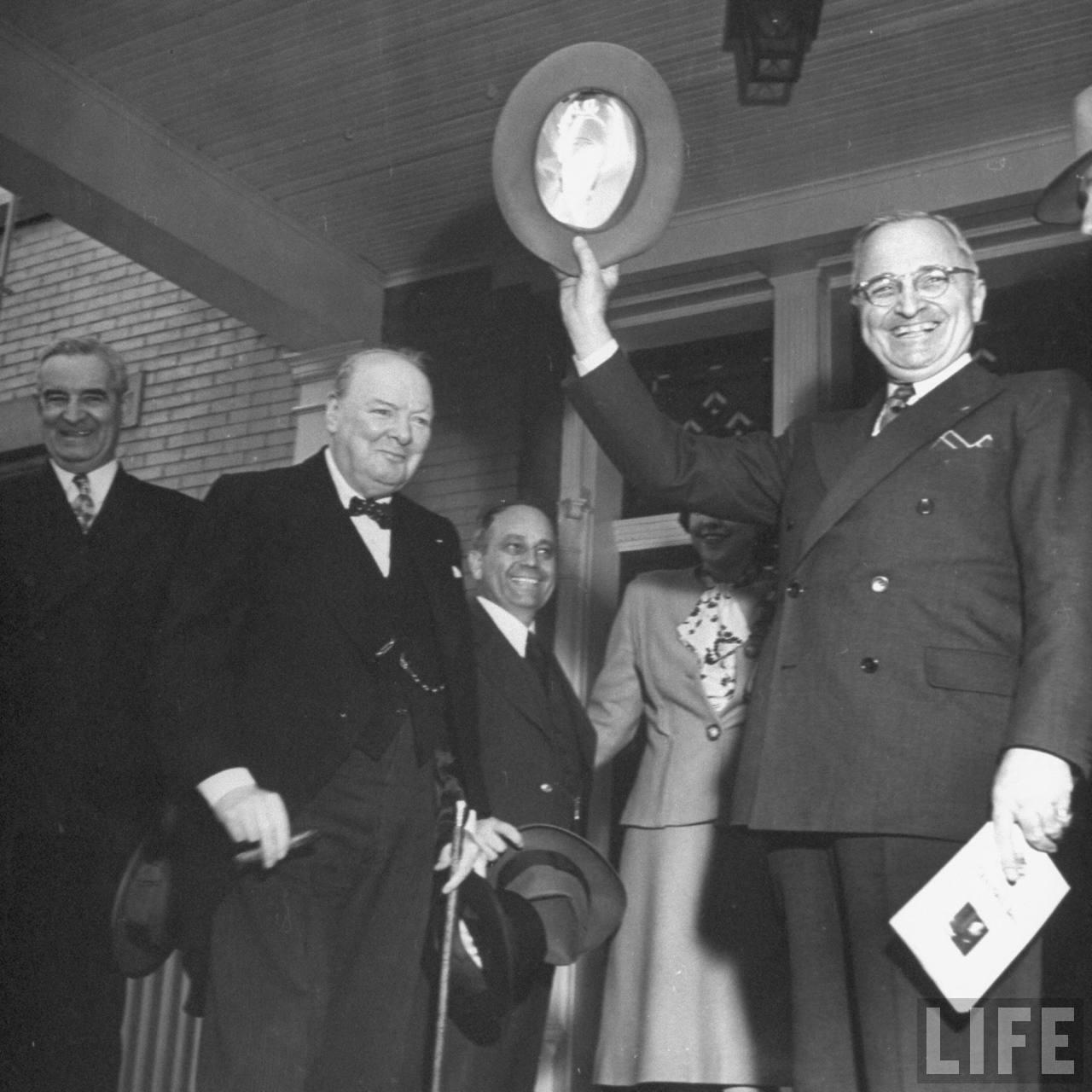 The iron curtain speech - Churchill S Iron Curtain Speech