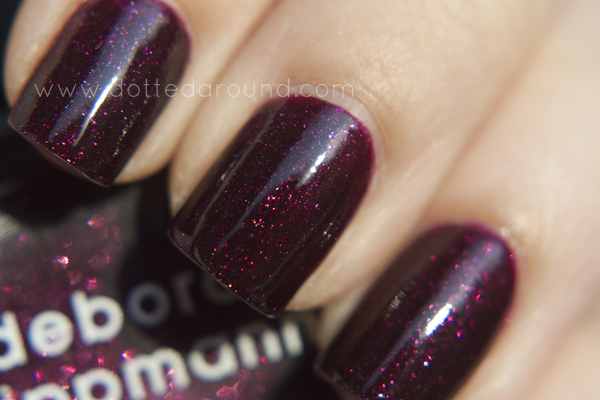 Deborah Lippmann swatch good girl gone bad