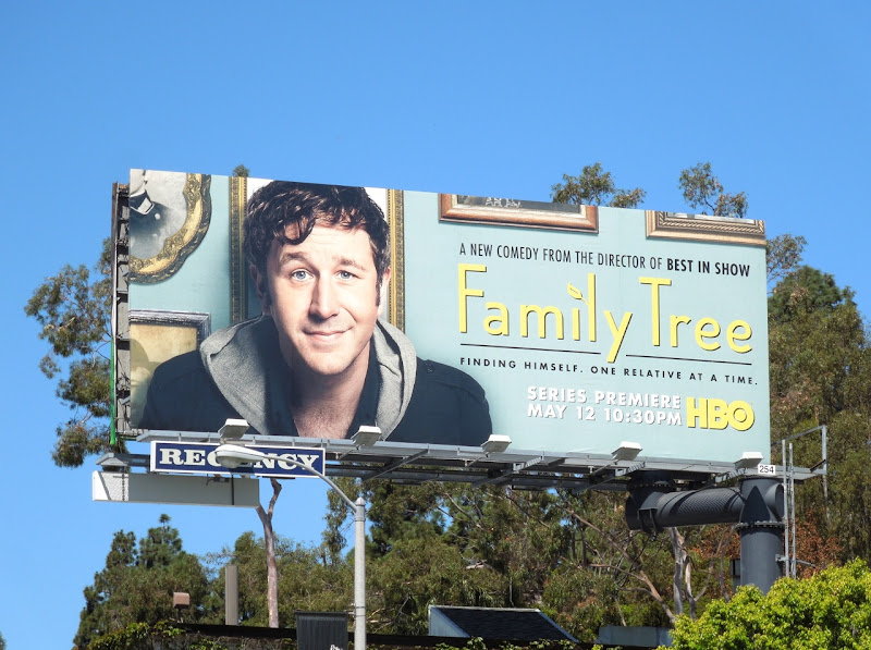 Family Tree series premiere billboard