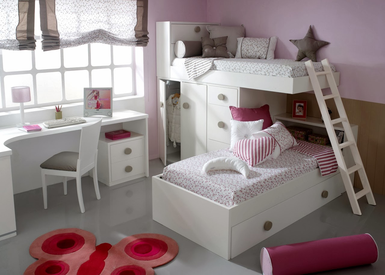 Camas de ni as for Habitaciones infantiles nina 3 anos