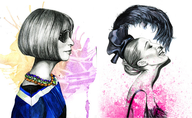 rong rong devoe fashion illustration anna wintour inspiration blog