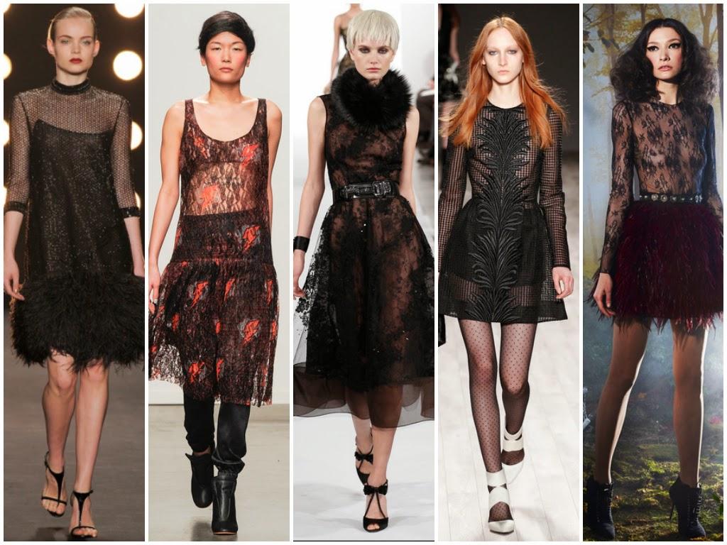 Платья Модные Тенденции 2017