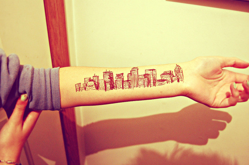 500 days of summer skyline