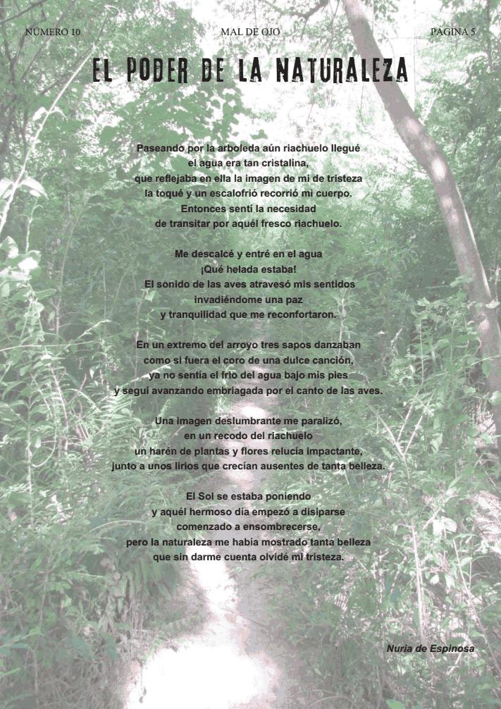 Mi relato El poder de la naturaleza