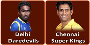 चैन्नई सुपर किंग्स बनाम दिल्ली डेअरडेविल्स 14 मई 2013 को है।