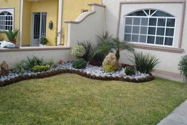 Decoracion actual de moda jard n de piedras espectacular for Arreglos para jardin