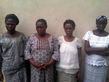 4 women arrested for kidnapping girl and selling her for N650,000 (PICTURED)