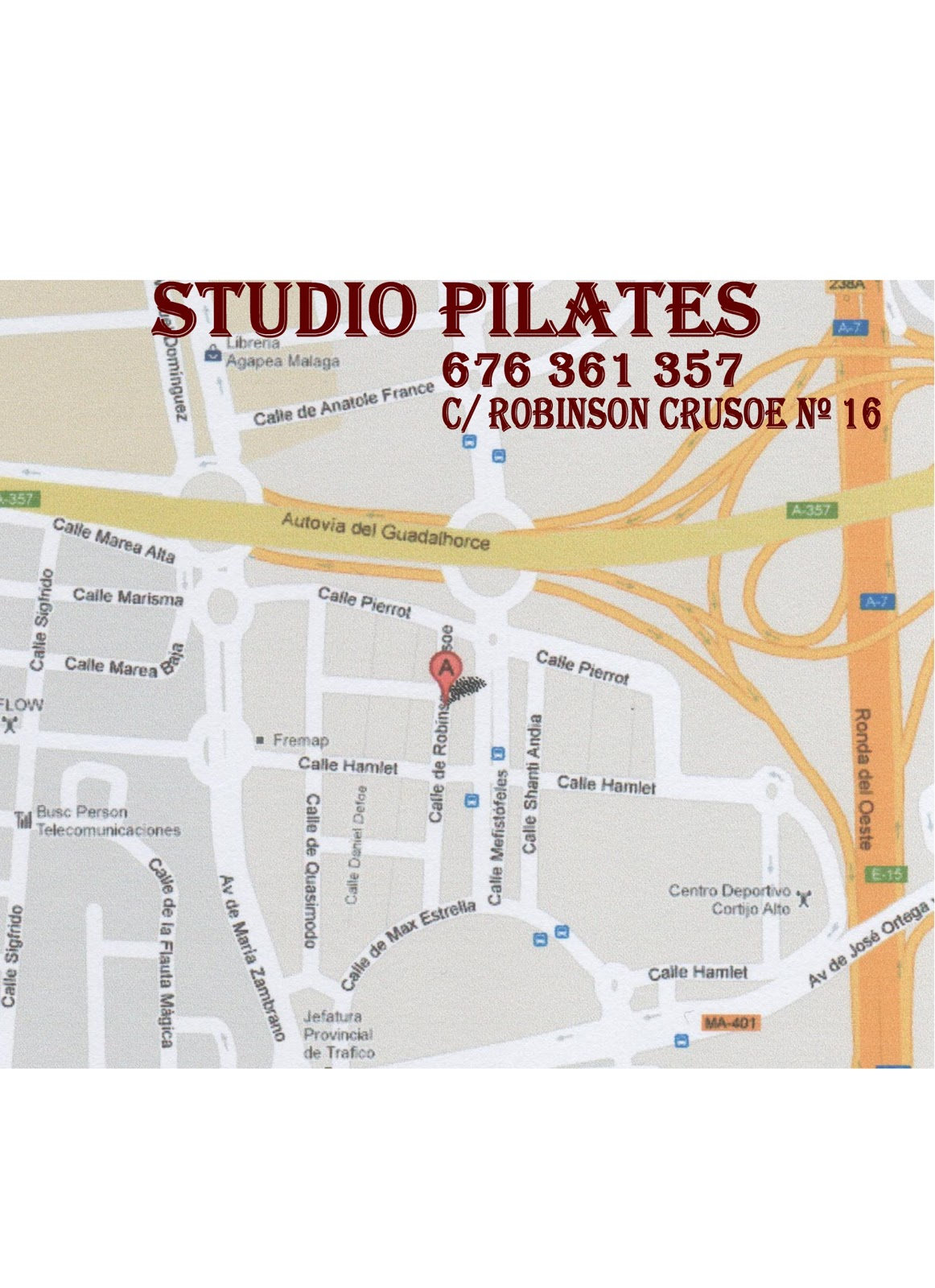 Bailas pilar olivares studio pilates teatinos m laga - Jefatura de trafico malaga ...
